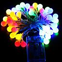 olcso LED világítás-ZDM® 10 m Fényfüzérek 100 LED DIP Led Meleg fehér / Hideg fehér / Több színű Vízálló / USB / Parti 100-240 V 1db