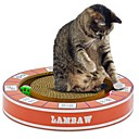 זול מטבחי צעצוע ואוכל צעצוע-צעצועים מיטות משטח גירוד פשוט ידידותי לחיות מחמד משטח גירוד ללא פראבן ללא פורמלין נפית החתולים נייר קרטון עבור חתולים