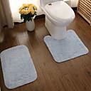 tanie Maty i dywany-1 zestaw Nowoczesny Dywany łazienkowe Bamboo, bawełnie Kreatywne Kwadrat Antypoślizgowy