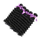 olcso Természetes színű póthajak-6 csomag Maláj haj Göndör / Mély hullám Szűz haj Az emberi haj sző 8-28 hüvelyk Természetes szín Emberi haj sző Újonnan érkező / Hot eladó / Kényelmes Human Hair Extensions Női