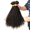 cheap One Pack Hair-3 Bundles Brazilian Hair Kinky Curly Human Hair Human Hair Extensions 8-28 inch Human Hair Weaves Extention / Hot Sale Natural Color Human Hair Extensions All