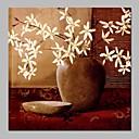 ieftine Picturi în Ulei-Hang-pictate pictură în ulei Pictat manual - Natură moartă Floral / Botanic Vintage pânză