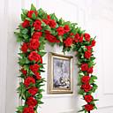 hesapli Suni Çiçek-Yapay Çiçekler 1 şube Parti / Gece / Düğün Güller Duvar Çiçeği