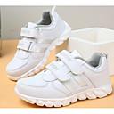 tanie Obuwie dziewczęce-Dla chłopców / Dla dziewczynek Obuwie PU Wiosna Wygoda Adidasy na Biały / Różowy / biały / Biały / Srebrny