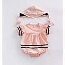 ieftine Set Îmbrăcăminte Bebeluși-Bebelus Unisex Dungi Mânecă scurtă O - piesă