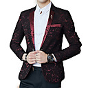 cheap Bag Sets-Men's Simple Blazer - Floral