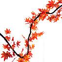 ieftine Flor Artificiales-Flori artificiale 5 ramură Modern / Pastoral Stil Plante Flori Perete