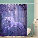olcso Szexi jelmezek-Shower Curtains & Hooks Kortárs Poliészter Újdonság Vízálló Fürdőszoba