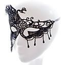 baratos Máscaras de Festa-Máscaras de Dia das Bruxas / Artigos de Halloween / Acessórios do Dia das Bruxas Novo Design / Lady sexy / Requintado Tema Clássico / Férias / Tema Fadas Tecido Traçado Artistíco / Retro / Rosto 1 pcs