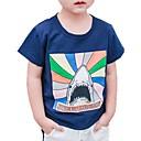 tanie Zestawy ubrań dla dziewczynek-Brzdąc Dla chłopców Aktywny Nadruk Nadruk Krótki rękaw Bawełna T-shirt