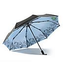 tanie Parasol przeciwdeszczowy / przeciwsłoneczny-Tkanina Damskie / Wszystko Słoneczne i deszczowe / Ochrona przed wiatrem / Nowe Parasolka Składana