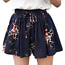 cheap Men's Necklaces-Women's Active Loose Chinos Pants - Floral