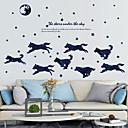 ieftine Acțibilde de Perete-Autocolante de Perete Decorative - Animal Stickers de perete Animale Personaje Sufragerie Dormitor Baie Bucătărie Cameră de studiu / Birou