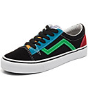 ieftine Adidași de Damă-Pentru femei Pantofi Pânză Primăvară / Toamnă Confortabili Adidași Toc Jos Negru