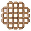 ieftine Tăblițe masă-Contemporan Plastic Rotund Tăblițe masă Mată Decoratiuni de tabla 1 pcs