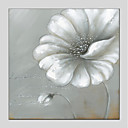 cheap Floral/Botanical Paintings-Oil Painting Hand Painted - Floral/Botanical Modern