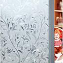 baratos Películas e Adesivos de Janela-Decalque Autocolantes de Parede Decorativos - Autocolantes 3D para Parede 3D Floral / Botânico Reposicionável Removível Lavável