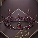 tanie Imprezowe nakrycia głowy-Stop Tiary z Kryształ górski / Kryształki 1 szt. Ślub / Urodziny Winieta