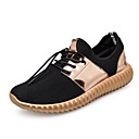 cheap Men's Sneakers-Men's Tulle Spring / Fall Comfort Sneakers Gold / White / Silver