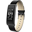 זול שעונים חכמים-חכמים שעונים STC9S ל Android 4.3 ומעלה / iOS 7 ומעלה מוניטור קצב לב / מודד לחץ דם / המתנה ארוכה / מסך מגע / עמיד במים מד צעדים / מזכיר שיחות / מד פעילות / מעקב שינה / תזכורת בישיבה / Alarm Clock