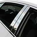 baratos Pedais para Carros-Prata Adesivos Decorativos para Carro Negócio Guarnição da janela Não Especificado Guarnição da janela