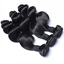 ieftine Meșe Păr Natural-3 pachete Păr Brazilian Ondulat Păr Natural Accesoriu de Păr Culoare naturală Umane Țesăturile de par Lux Umane extensii de par Pentru femei