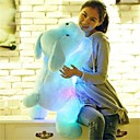 cheap Dog Clothes-Dog Stuffed Animal Plush Toy Lovely Comfy LED Unisex Girls' Toy Gift 1 pcs