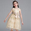 זול שמלות לבנות-שמלה כותנה חוטי זהורית ספנדקס קיץ ללא שרוולים Party יומי אחיד פרחוני הילדה של חמוד פעיל לבן בז'