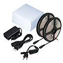 abordables Accesorios LED-ZDM® 2x5M Sets de Luces 2*300 LED 5050 SMD 1 adaptador de 12V 6A / 1 x interruptor de atenuación Blanco Cálido / Blanco Fresco / Rojo Cortable / Impermeable / Auto-Adhesivas 12 V 1 juego