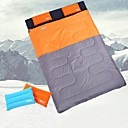 cheap Cases, Bags & Straps-DesertFox® Sleeping Bag Outdoor Double Size +5~+15 °C Double Wide Bag 100% Polyester 70gsm. Lightweight Moisture for Camping / Hiking / Caving Traveling Spring &  Fall Sleeping Bags Camping & Hiking
