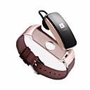 olcso Okosórák-Intelligens Watch STSB3PLUS mert Android iOS Bluetooth Vízálló Szívritmus monitorizálás Vérnyomásmérés Érintőképernyő Hosszú készenléti idő Lépésszámláló Hívás emlékeztető Testmozgásfigyelő Alvás