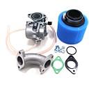 זול מערכות דלק-vm22 mikuni pz26 carb מסועף שמן חותם אוויר מסנן עבור lifan 110cc yx 125cc לכלוך בור אופניים ATV