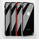 cheap iPhone Cases-Case For Apple iPhone X / iPhone 8 Shockproof / Mirror Back Cover Solid Colored Hard Tempered Glass for iPhone X / iPhone 8 Plus / iPhone 8