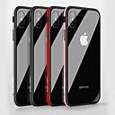 preiswerte Parykopfbedeckungen-Hülle Für Apple iPhone X / iPhone 8 Stoßresistent / Spiegel Rückseite Solide Hart Gehärtetes Glas für iPhone X / iPhone 8 Plus / iPhone 8