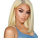 preiswerte Echthaar Perücken mit Spitze-Remi-Haar Spitzenfront Perücke Peruanisches Haar Glatt Perücke Kurzer Bob 130% Damen Kurz Echthaar Perücken mit Spitze