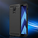 abordables Geniales Gadgets-Funda Para Samsung Galaxy A6+ (2018) / A6 (2018) Congelada Funda Trasera Un Color Suave TPU para A6 (2018) / A6+ (2018) / A3 (2017)