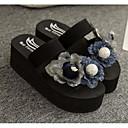 billige Sandaler til damer-Dame EVA Sommer Komfort Tøfler og flip-flops Creepers Blå / Rosa