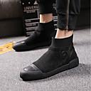 olcso Férfi vitorlás cipők-Férfi Fashion Boots Bőr Ősz Csizmák Fekete