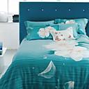 preiswerte Geometrische Duvet Covers-Bettbezug-Sets Geometrisch Polyester / 100% Lyocell Reaktivdruck 4 Stück