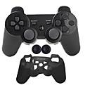 povoljno PS3 oprema-Bez žice Kompleti za kontrolu igre Za Sony PS3 ,  Bluetooth Prijenosno Kompleti za kontrolu igre Silikon 1 pcs jedinica
