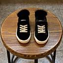 זול נעלי ילדות-בנות נעליים עור חורף נוחות נעלי ספורט ל שחור