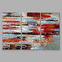 ieftine Picturi cu Oameni-Hang-pictate pictură în ulei Pictat manual - Abstract Modern Others