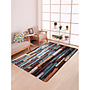 cheap Rugs-Area Rugs Traditional / Country Flannelette, Flat Shape Superior Quality Rug