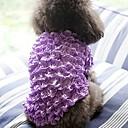 povoljno Odjeća za psa-Psi Mačke Ljubimci Mellény Odjeća za psa Jednostavan Princeza Klasika Bijela Fuksija Plava Pink Duga Terilen Kostim Za kućne ljubimce