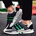 זול נעלי ספורט לגברים-בגדי ריקוד גברים עור נובוק אביב נוחות נעלי אתלטיקה ריצה שחור / כתום / ירוק