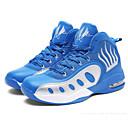 זול נעלי ספורט לגברים-בגדי ריקוד גברים נעלי נוחות PU סתיו נעלי אתלטיקה כדורסל שחור לבן / שחור אדום / כחול ים