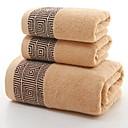 baratos Roupões e Toalhas-Qualidade superior Toalha de Banho, Geométrica Poliéster / Algodão / 100% algodão 1 pcs