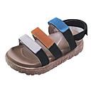 ieftine Tocuri de Damă-Pentru femei PU Vară Pantof cu Berete Sandale Toc Drept Negru / Kaki / Bloc Culoare