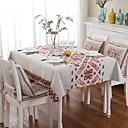tanie Obrusy-Nowoczesny Kwadrat Obrus Kwiaty / Geometric Shape Dekoracje stołowe 1 pcs