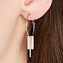 cheap Earrings-Women's Hoop Earrings - 18K Gold Plated, S925 Sterling Silver Simple, Vintage Rose Gold For Daily / Evening Party